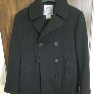 Other - Mens Navy Pea Coat Official Size 40 L